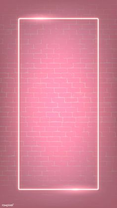 premium illustration of Rectangle pink neon frame on a pink brick Rectangle pink neon frame on a pink brick wall vector Framed Wallpaper, Pink Wallpaper Iphone, Screen Wallpaper, Pink Flower Wallpaper, Pink Wallpaper For Walls, Pinky Wallpaper, Pink Glitter Wallpaper, Brick Wall Wallpaper, Brick Wall Background