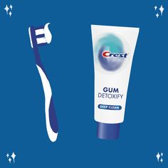 Did you know there are billions (yes, billions) of bacteria in your mouth? Neutralize the bacteria even below your gum line with NEW Crest Gum Detoxify. Orthodontics, Deep Cleaning, Did You Know, Teeth, Guys, Healthy, Unique, Makeup, Hair