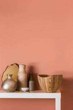 ColourFutures ™ Copper Orange_Farbe des Jahres 2015 Dulux Source by turbulencesdeco Dulux Paint Colour Trends, Color Trends, Dulux Paint Colours Pink, Peach Walls, Orange Walls, Coral Walls, Room Colors, Wall Colors, Murs Oranges