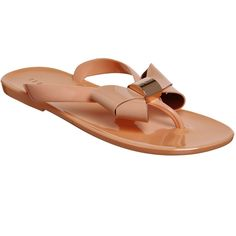 9f2288258e240e Ted Baker Ettiea Flip Flops ( 56) ❤ liked on Polyvore featuring shoes