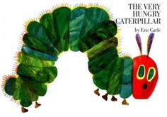 Literary gift ideas~'The Very Hungry Caterpillar' by Eric Carle with fruit-shaped gummies and a DIY stuffed caterpillar made from a sock (super easy & no sewing!) www.littleheartsbooks.com