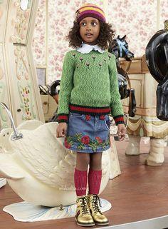 ALALOSHA: VOGUE ENFANTS: New Season FW'16: Discover the lost romance of botany in the Gucci Garden