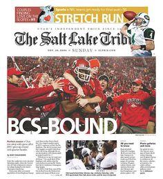 The Greatest Utah Football Games Ever: #6: November 22, 2008 - Utah vs. BYU