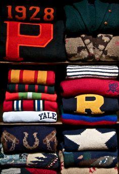 #Preppy sweaters #love