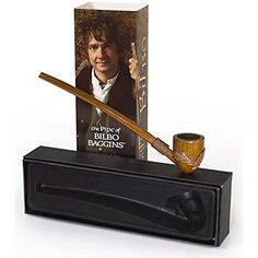 The Pipe of Bilbo Baggins ~ Functional Replica Pipe ~ The Hobbit FAST SHIP