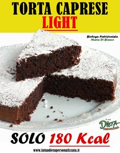 Sweets Recipes, Cake Recipes, Cooking Recipes, Desserts, Sweet Corner, Decadent Cakes, Italy Food, Healthy Cake, Light Recipes