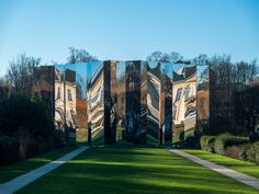 Bureau Betak distorts and refracts reality at the Musée Rodin in Paris via Frameweb.com