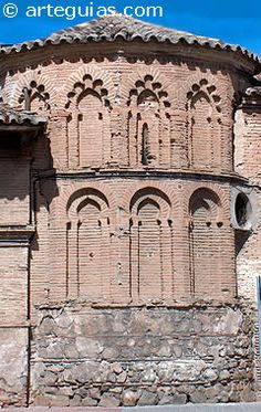 Ábside mudéjar de la antigua iglesia de San Eugenio