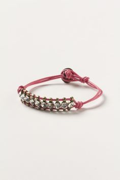 Starlight Leather Bracelet - Anthropologie.com