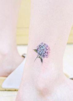 ideas about Hydrangea Tattoo on