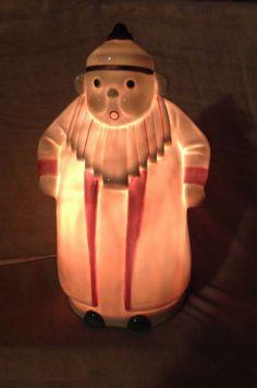 Keramicko-NIGHT-LIGHT-VEILLEUSE-ART-DECO-MANDARIN-čínsko-ROBJ-style-PERFUME-LAMP