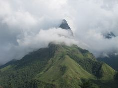 Magnificent Phang Xi Pang mountain overlooking Sapa in Vietnam by Bob #travel #asia