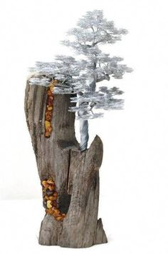 """Outstanding """"metal tree wall decor"""" info is available on our web pages. Check it out and you wont be sorry you did Wire Tree Sculpture, Driftwood Sculpture, Driftwood Art, Metal Tree Wall Art, Metal Art, Sculptures Sur Fil, Bonsai Wire, Wire Trees, Modelos 3d"""