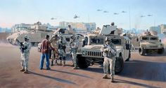 Never Forget, the 42nd ID in Iraq, by Larry Selman, reproductions available at www.larryselman.com