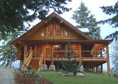 Great Log Cabin Home