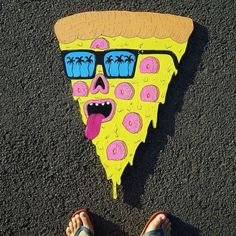 Mulga the Artist Best Pizza Delivery, Joel Moore, Good Pizza, Try Something New, Mural Painting, Freelance Illustrator, You Are Awesome, Lab, Cheese