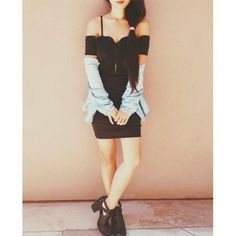Stephanie from Honey 'n Silk in the Flux Buckled Bootie (http://www.nastygal.com/by-nasty-gal-shoes/flux-buckled-boot) #ShoeCult