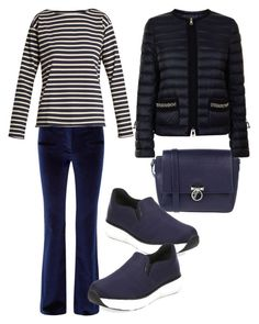 """""""Untitled #308"""" by valeria-coroianu on Polyvore featuring Altuzarra, M.i.h Jeans, Moncler, Prada and Versace"""