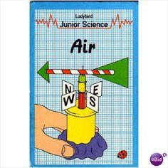 Ladybird series 621 Junior Science Air 1982 Hardback 9780721406589 on eBid United Kingdom