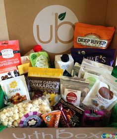 UrthBox for Delicious Healthy Snacks! #review