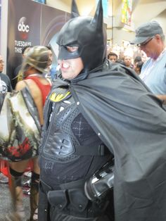 Oh Batman. No need to grind your teeth. - 2013 SDCC  #batman #dccomics #sdcc
