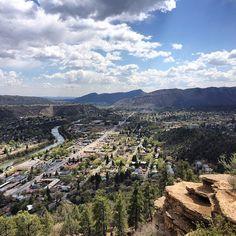 Beautiful views from Durango, Colorado!