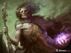 Lich Lord by Dane Madgwick | Fantasy | 2D | CGSociety