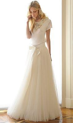 Casual wedding dress #casualweddings #chicweddings