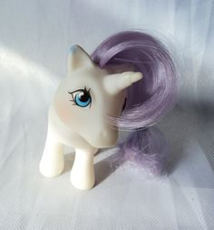 Vintage My Little Pony Baby Glory G1 by KanariKouture on Etsy