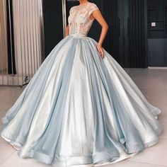 Source by gowns prom Prom Dresses Ball Gown Blue, Quince Dresses, Mermaid Dresses, Bridal Dresses, Evening Dresses, Formal Dresses, Prom Gowns, Pretty Dresses, Quinceanera Dresses