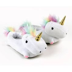 Unicorn Light Up Slippers. Unicorn gifts. Gifts for teens and tweens. Gifts for unicorn lovers.