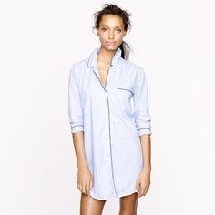 "Spotted while shopping on Poshmark: ""JCrew sleep shirt""! #poshmark #fashion #shopping #style #J. Crew #Tops"