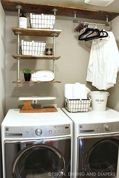 Small Laundry Room Organization