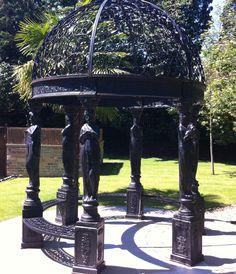 New addition to our garden Fairytale Weddings, North Yorkshire, Gazebo, Fairy Tales, Outdoor Structures, Places, Garden, Kiosk, Garten