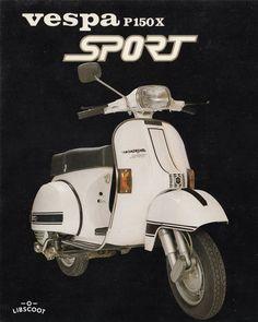 Vespa P150X Sport (1983-1984) ⋆ LibScoot