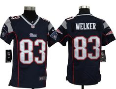Youth NFL New England Patriots Wes Welker Game Team Color Jersey  $19.55