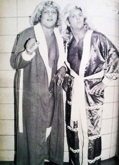 Early photo of Terry Gordy and Michael Hayes - SJ