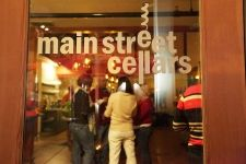 """Main Street Cellars in Winters where the motto is """"Juicy wine. Stinky cheese."""""""