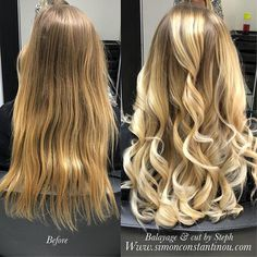 Balayage  @olaplex = Heavenly hair Steph added pieces of creamy blonde balayage to lift & enhance this clients hair & with a little help from @olaplexuk the hair has also been kept in top condition  #simonconstantinou #balayage #blondebalayage #goldwell #cardiffhairsalon #iamgoldwell #modernsalon #behindthechair @goldwelluk To book in for a free colour consultation with Steph or one of our talented colourists call us on  02920461191 O.Constantinous & Sons. 99 Crwys Rd Cardiff. CF24 4N