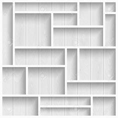 White Wood Wall Shelves Corner Storage