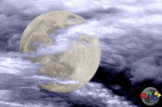 Super Moon in Clouds 2012 by Rodney Hickey Design Studio, via Flickr