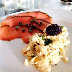 Gravad Lax, Scrambled Eggs, Caviar #sundaybreakfast #homecooked #fromwandaskitchen