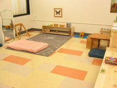 Montessori Infant classroom/Nido
