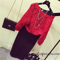 Стильный свитер спицами в стиле Шанель. Модный женский свитер схемы | Я Хозяйка