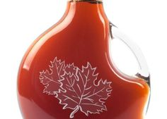 Maple Syrup - antioxidants, zinc, iron, magnesium and more!