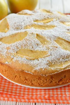 İdeen Easy Cake Our recipe for sunken apple pie, Apple Crisp Topping, Biscuits, Yummy Cakes, Apple Pie, Chocolate Cake, Brunch, Food And Drink, Easy Meals, Sweets