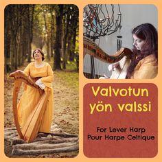 VALVOTUN YON VALSSI - LEVER HARP - EVE MCTELENN