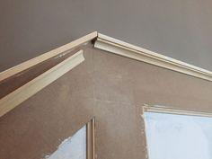 Bauanleitung für eine Vertäfelung im Treppenhaus. Einfach, günstig und individuell.
