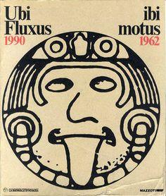 フルクサス Ubi Fluxus Ibi Motus, 1990-1962 Achille Bonito Oliva 1990年/Mazzotta Edizione 英・伊語版 少傷み