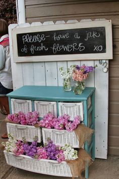 love this idea for a bridal shower